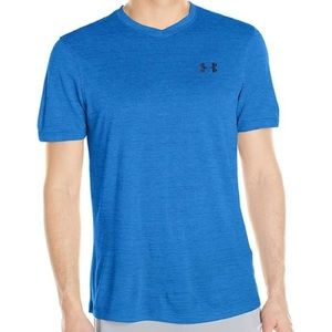 Under Armour Men's T shirt heatgear loose blue XL